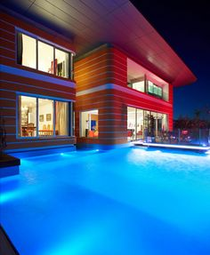 Swiming Pools Pool Lights Ideas With Swimming Pool Lighting Design Photo  Also Brightly Illuminated Swimming Pool At Night And Plan For Swimming Pool  Deck ...