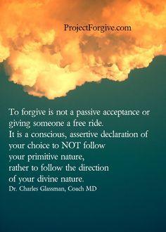 Dangers Of Not Forgiving