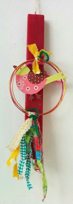 Handmade easter candle. Χειροποίητη λαμπάδα.  El sueño de Panorea. Easter Candle, Diy And Crafts, Arts And Crafts, Greek Easter, Beautiful Candles, Handmade Candles, Holiday Time, Spring Crafts, Candle Making
