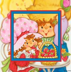 Strawberry Shortcake Cartoon, Vintage Strawberry Shortcake Dolls, Classic Cartoons, Calvin And Hobbes, The Good Old Days, Coloring Sheets, Childhood Memories, Berries, Lunch Box
