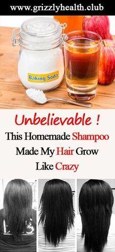 Unbelievable ! This Homemade Shampoo Made My Hair Grow Like Crazy
