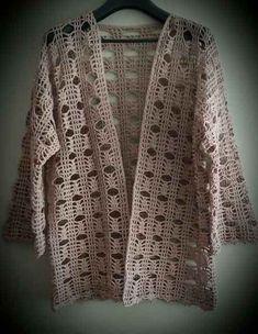 Crochet cardigan pattern jacket pdf pattern only asdidy fashion salvabrani salvabrani – Artofit Gilet Crochet, Crochet Coat, Crochet Cardigan Pattern, Crochet Blouse, Crochet Shawl, Crochet Clothes, Crochet Lace, Crochet Stitches, Free Crochet