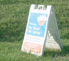 Dustless sanders are required in addition to using tarps or tenting.