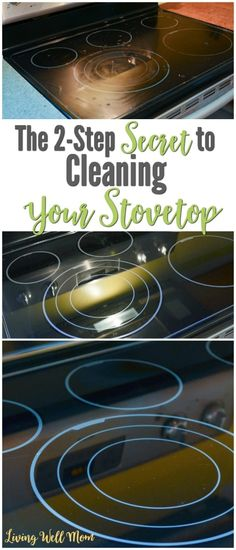 Ready to know the secret to getting a glass stove top clean? Click to read - it is GENIUS!!! Cleaning Flat Top Stove, Clean Stove Top, Clean Grill, Cleaning Recipes, Cleaning Hacks, Clean Glass Cooktop, Stove Top Cleaner, Deep Cleaning Checklist, Essential Oils Cleaning