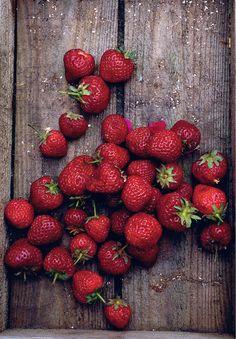 Strawberries from Nigel Slater's Ripe.