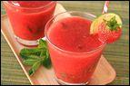 Frozen Strawberry Mojitos