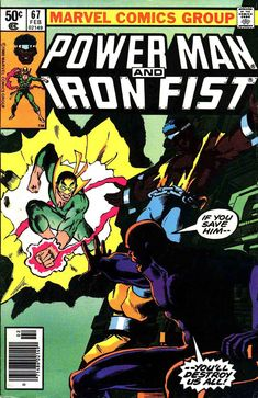 Power Man and Iron Fist Hero for Hire) comic books Marvel Comic Books, Comic Book Heroes, Star Comics, Marvel Comics, Iron Fist Powers, Iron Fist Comic, Luke Cage Iron Fist, Frank Miller Comics, Luke Cage Marvel