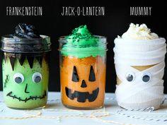 Mason Jars Halloween Crafts: 19 Wicked Ways To Use Mason Jars | http://diygiftworld.com/mason-jars-crafts-halloween/