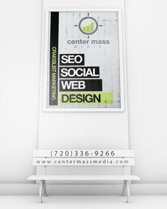 Center Mass Media design
