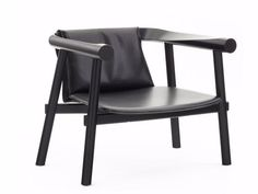 ALTAY Leather armchair Altay Collection by COEDITION design Patricia Urquiola
