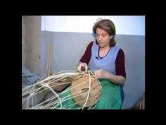 Artesanía en caña y mimbre - Sanlúcar de Guadiana - YouTube