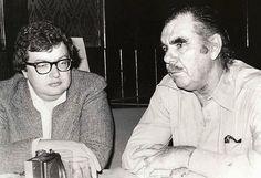 Roger Ebert and Russ Meyer, Mr. Media Interviews