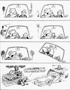 Quino - Déjenme inventar (Let Me Invent) Cartoon Jokes, Comics Story, Fun Comics, Beste Comics, Comic Tutorial, Comic Boards, Lucky Luke, Ladybug Comics, Humor Grafico