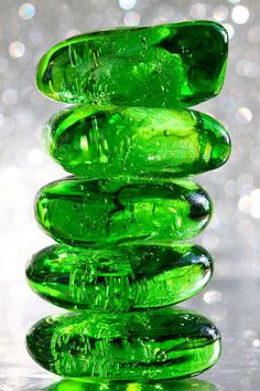 The Emerald Tower by Euge Johnson. May Birthstone - Emerald