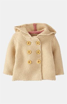 Mini Boden Knit Jacket (Infant) available at #Nordstrom