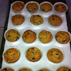 Paleo blueberry muffins Recipe at www.elanaspantry.com I used applesauce instead of agave.
