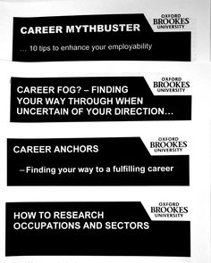 If you are not sure which career is right for you, take a look at these helpful guides.