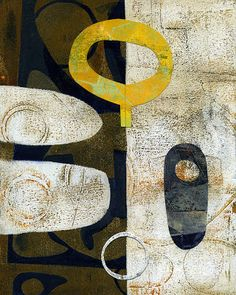 Michèle Brown Artist - The Old Cells Studio: New Year New Collage