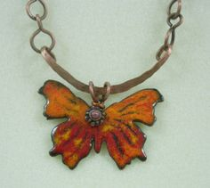 Torch fire enamel/ this is my design...one of the first I did and I need to do some more soon