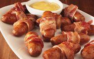 Bacon-Wrapped Brown Sugar Lit'l Smokies