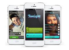 Tonight mobile iPhone app UI