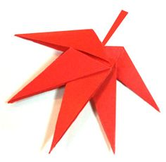 Origami Maple Site has animation showing how to fold, when to fold.