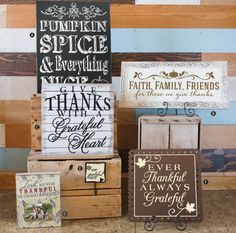 New for 2015 - thankful and grateful!