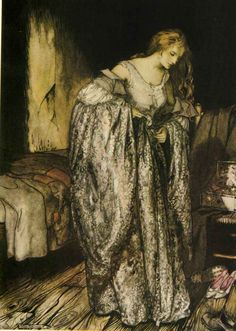 Arthur Rackham Little brother and little sister and other tales by the Brothers Grimm