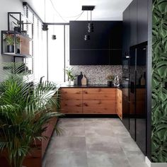 Unveiling Releases of The Month by Your Favorite Modern Design Brands Loft Kitchen, Kitchen Living, Fixer Upper Kitchen, Kitchen Cabinet Colors, Home Design Plans, Interior Design Kitchen, Kitchen Furniture, Interior Architecture, Kitchen Remodel
