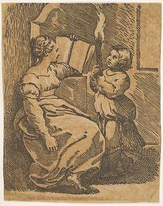 """""""Sybil"""" (after Raphael)"""