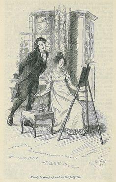 Ilustraciones de Jane Austen