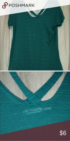 Maurice's jade green top Very cute jade green top. Bought from a Posher but didn't fit. Maurices Tops Blouses