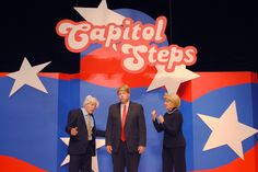Join CATCH Neighborhood Housing for a hilarious evening of political musical satire on Friday, March 3 as the Capitol Steps return to Concord!The Steps, a Wash