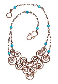 Wirework: Coiled collar