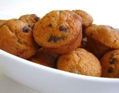 Healthier Pumpkin Ch. Chip Muffins