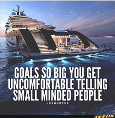 Goals so big you get uncomfortable telling small minded people Boss Babe Quotes, Attitude Quotes, Life Quotes, Qoutes, Quotes Quotes, Leader Quotes, Mindset Quotes, Money Quotes, Deep Quotes