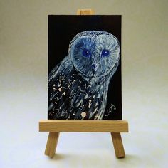 Owl ACEO £6.00