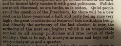 Charles Dickens' 'American Notes' (1842) on Presidential Elections