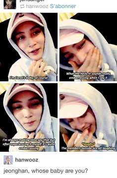 Jeonghan not my baby his my HUSBAND... 사랑해요