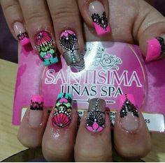 Uñas favoritas Hair Makeup, Make Up, Nail Art, Nails, Nail Design, Beauty, Finger Nails, Templates, Amor