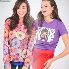 I love colleens face in this, like 'Miranda please stop you're embarrassing me'