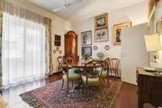 Apartment in Roma, Italy. Apartment of 150 square meters in an elegant building of the 60s with a lift.  Situated in a small residential hill ( unusual for Rome..!!) it consists of large living room with dining area which leads to a comfortable  balcony, kitchen, two doubl...