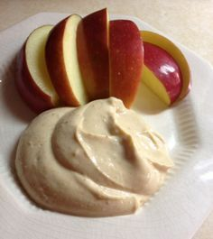 Greek yogurt, peanut butter, honey and cinnamon make a dip that will have your kids begging for an apple a day.