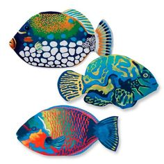 Parrotfish, Clown Triggerfish, Mandarinfish Mats // pineapple tile-mosaic pool mat: http://www.frontgate.com/pineapple-pool-mat/pool-beach/decor/673544 ;; MARGARITAVILLE! <3 http://www.frontgate.com/margaritaville-it-27s-5-o-27clock-somewhere-pool-mat/pool-beach/decor/801433 ;; DRINKS ON THE HOUSE! <3 http://www.frontgate.com/drinks-are-on-the-house-wall-art/pool-beach/decor/1083092 ;; plus flamingo pillows, mat ^~