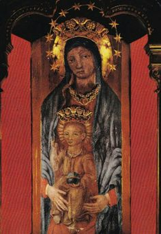 The image of the Madonna della Libera in Alatri, Italy.