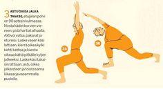 Tee tämä liikesarja joka päivä. Vase, Pilates, Feel Good, Health Fitness, Just For You, Positivity, Wellness, Exercise, Yoga