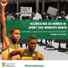 Caster Semenya (@caster800m) on Twitter Caster Semenya, Womens Month, 800m, Menstrual Cup, Africans, Proud Of Me, Track And Field, Olympics, Twitter