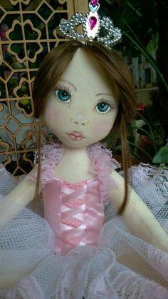 Bonecas de pano.  Bailarina. Soraia Flores.