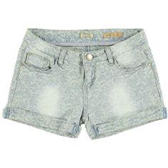 Fashion tutto il giorno con questi shorts ad effetto damascato Yes Zee - € 44,80   Nico.it