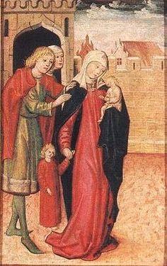 Hosszú felsőruha (Szent Erzsébet-oltár, Bártfa) - Hagyomány és múltidéző